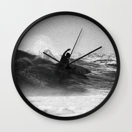 Iconic Indo Surfer Wall Clock