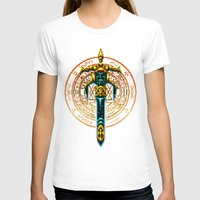 sword T-shirts featuring Bloody Sword by Naavech Verro