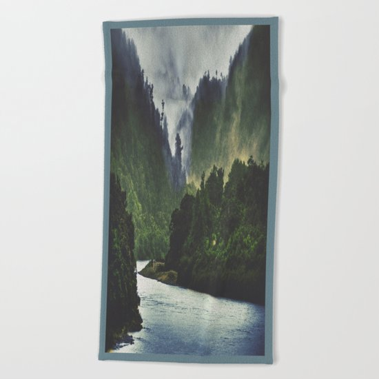 The Spirit Of The River Beach Towel