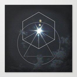 Eclipse Geometry Canvas Print