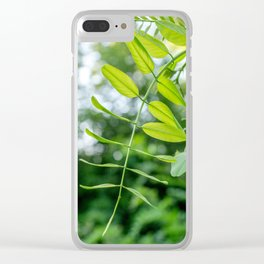 hushhh - 6 Clear iPhone Case