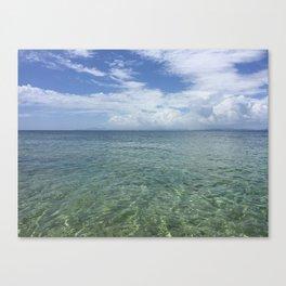 Blue Beach Vieques Canvas Print