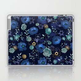 Cindy large floral print Laptop & iPad Skin