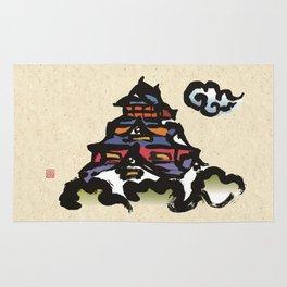 Kumamoto Castle Rug