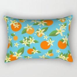Orange Blossom Daydreams Rectangular Pillow
