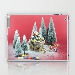Christmas cupcake Laptop & iPad Skin