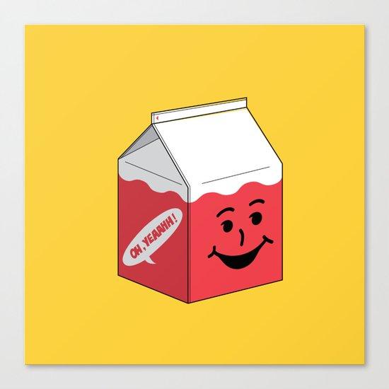 Kool Aid in a box Canvas Print