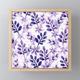 Watercolor Floral VIV Framed Mini Art Print