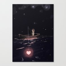 There Are Plenty of Other Fish in the Sea Canvas Print