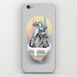 dreaming deer iPhone Skin