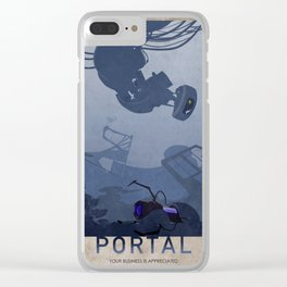 Portal Clear iPhone Case