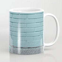Blue and shady cube Coffee Mug