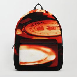 Casino Chips Stacks-Red Backpack