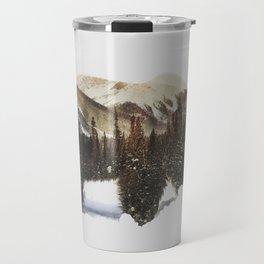 Arctic Grizzly Bear Travel Mug