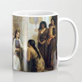 Edwin Long A Dorcas Meeting in the 6th Century Coffee Mug