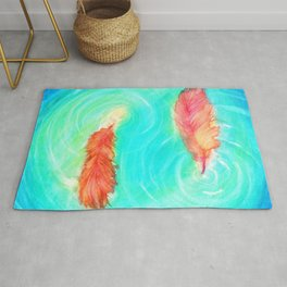 Fire and the Flood Rug