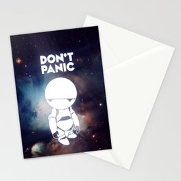 Don't Panic Marvin Stationery Cards