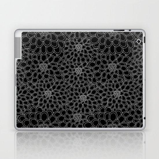 """""""Black flowered tree"""". Laptop & iPad Skin"""