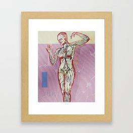 Arterial Framed Art Print
