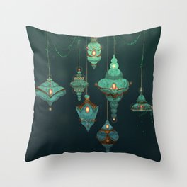 Lamps Throw Pillow