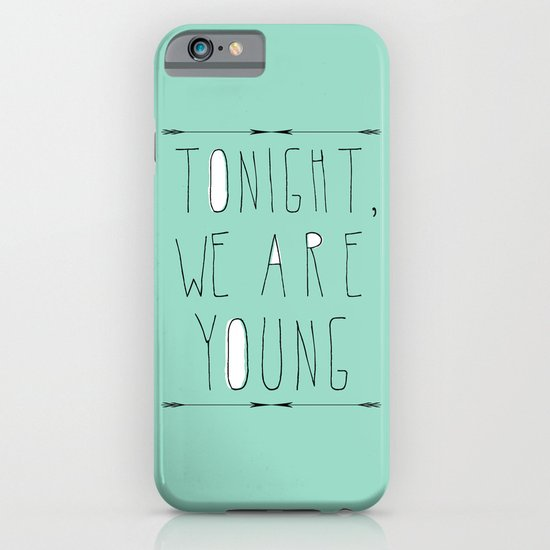 We Are Young iPhone & iPod Case