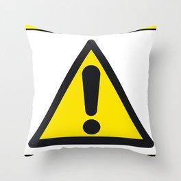 hazsign Throw Pillow