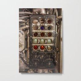 Battleship Panel Metal Print