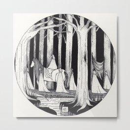Elves  Metal Print