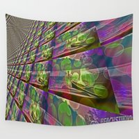 silent Wall Tapestries featuring Silent Peace by BeachStudio