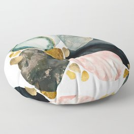 Pebble Abstract Floor Pillow