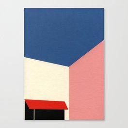 Los Angeles Corner Shop Canvas Print