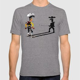 OUUUPS! - wooden wall version T-shirt