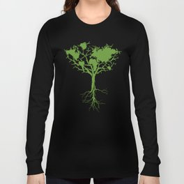 March for Science Earth Day 2017 ,Earth Tree Shirt Long Sleeve T-shirt