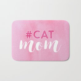 #CAT mom Bath Mat