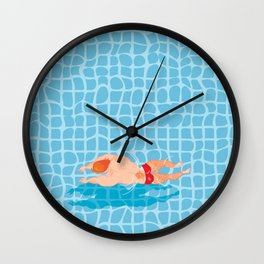 Pool # IVO CARALHACTUS Wall Clock
