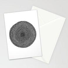 Circle / Semi Circles Stationery Cards