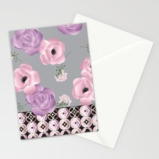 Purple & Pink Stationery Cards