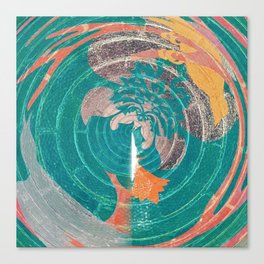 Spin Art Light Canvas Print