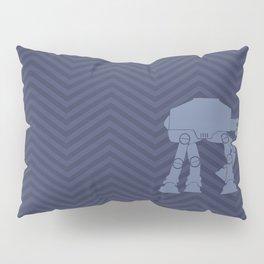 Chevrons AT in Navy Pillow Sham
