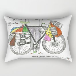 The Spirit Of Mumbai Rectangular Pillow
