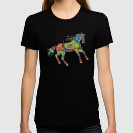 Horse, cool wall art for kids and adults alike T-shirt