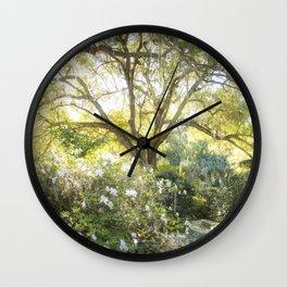 Dappled Wall Clock
