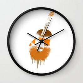 Spanish Guitar Wall Clock