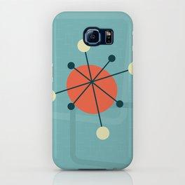 Mid century atomic design iPhone Case