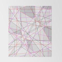 Spatial Web Throw Blanket