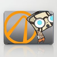 borderlands iPad Cases featuring Borderlands Bandit GIR by Diffro