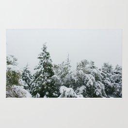 Snowy Pines Rug