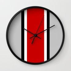 OSU Helmet Stripe Wall Clock