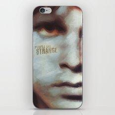 A Genius Draft iPhone Skin