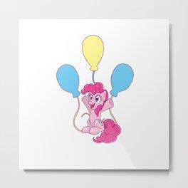 Pinkie Pie Cutie Mark Charm Metal Print
